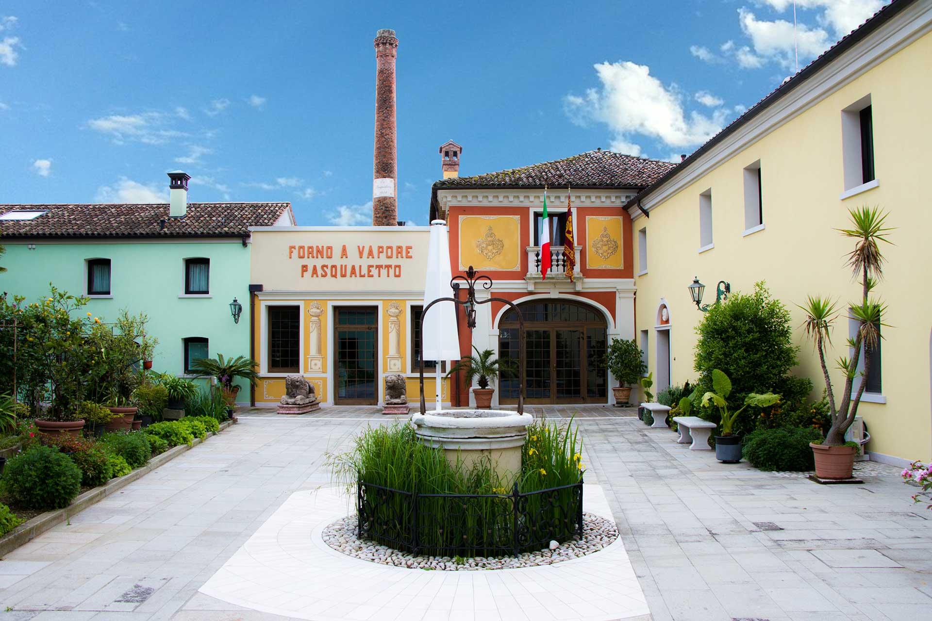 Ingresso Villa Ca Pasqualetto Spinea